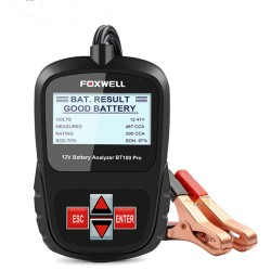 FOXWELL BT100 PRO akumuliatoriaus testeris