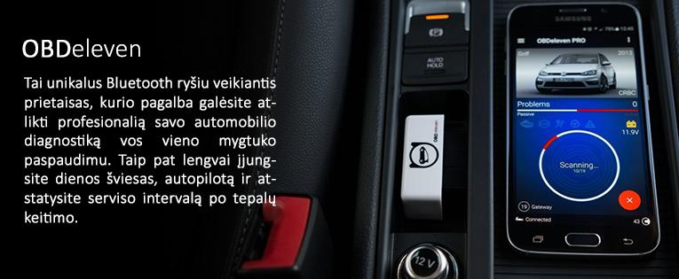 OBDeleven PRO AUDI, VW, ŠKODA, SEAT diagnostikos įranga