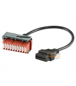 Peugeot, Citroen 30 pin OBD adapteris