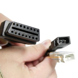 AUDI 2x2 į/iš OBD2 adapteris