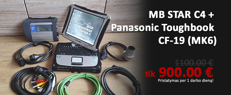 MB STAR C4 + Toughbook CF-19 (MK6)