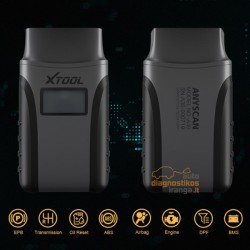 XTOOL Anyscan A30 universali diagnostikos įranga (Android/iOS)